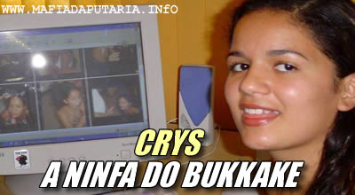 Crys ninfeta do Bukkake