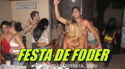 Festa de Foder Orgia e Putaria em festa de gringos