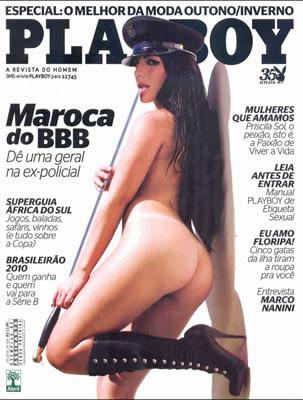 ana mara, maroca bbb10 nua na playboy sem roupa pelada