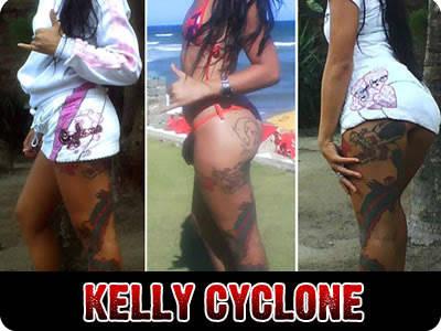 Fotos Kelly Cyclone Pelada