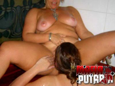 Ana e Cris duas fadas lesbicas se pegando