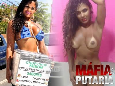 Nudes Universitaria Gostosa Vendedora de Chup Chup