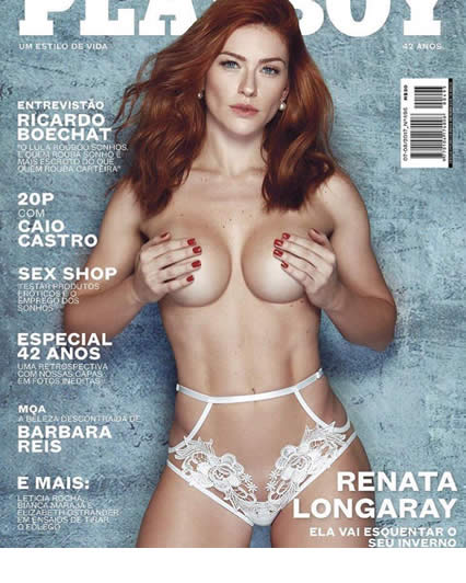 Renata Longaray Fotos Nua na Playboy