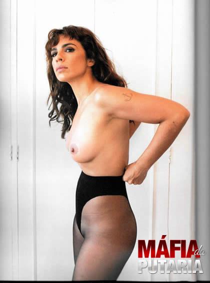 Maria Ribeiro Nua na Revista #4