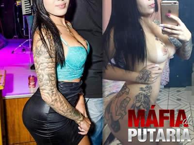 Gatinha Tatuada Caiu na Net Fotos e Videos